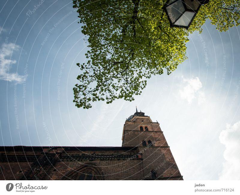 st. katharinen Himmel alt Stadt Baum Wolken Wand Architektur Gebäude Mauer Religion & Glaube Lampe Kraft Kirche historisch Laterne