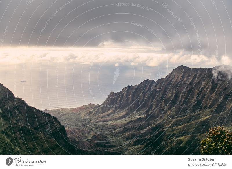 1000 | Meilen und noch viel weiter Natur Landschaft Wasser Wolken Gewitterwolken Sommer Schönes Wetter Unwetter Meer Insel Abenteuer Einsamkeit einzigartig