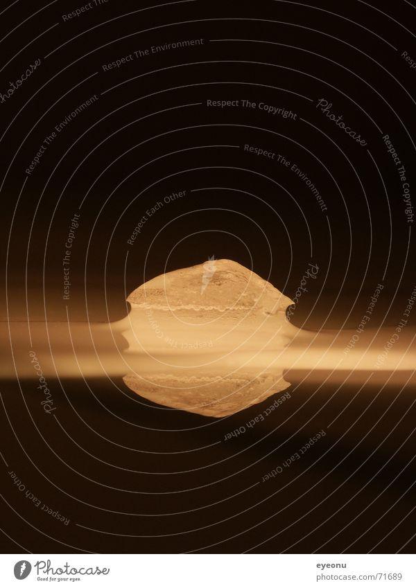warm ice Wasser Farbe kalt Wärme Eis frisch Physik schmelzen Wissenschaften Bronze Aggregatzustand