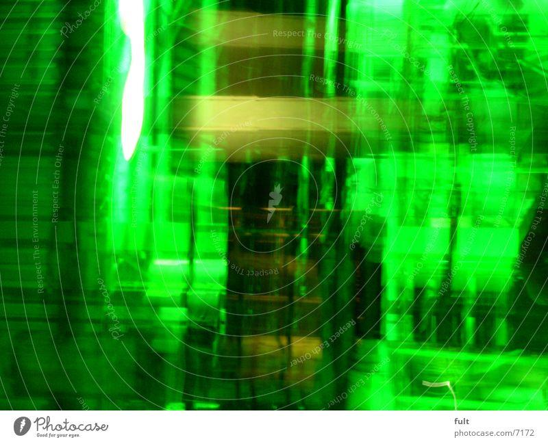 bewegung Schwung grün Stil Bewegungsunschärfe Design Licht Langzeitbelichtung bewung Lampe Dynamik Beleuchtung Unschärfe außergewöhnlich