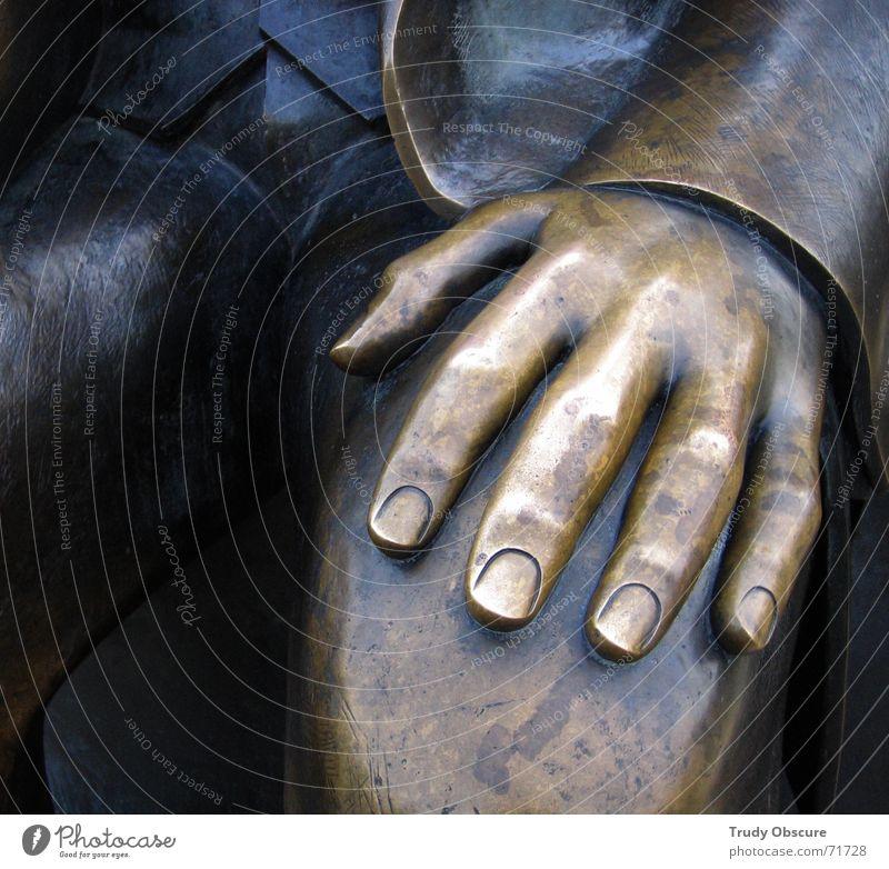 revolution blues Hand Denkmal DDR Pfote Studium Politik & Staat Wiedervereinigung Bronze Erbe Proletarier Philosophie Bildung Kommunismus Soziologie