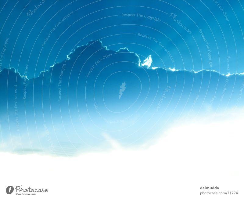 red_sky schön Himmel blau Wolken Wärme Wetter Physik Gott Götter minimalistisch
