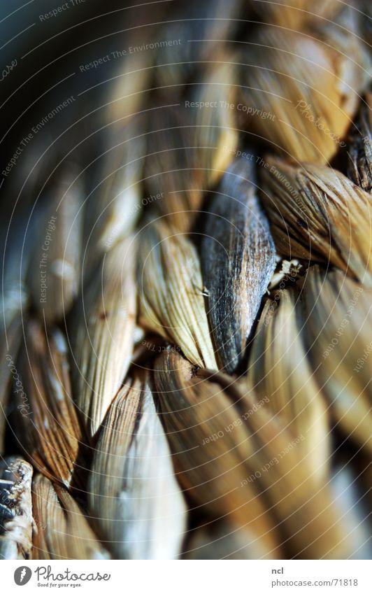 Bastkorb Korb rau Freizeit & Hobby Pause wohnlich Physik braun beige Strukturen & Formen geflochten netzartig Zopf vergrößert Natur Erholung Wärme ikea