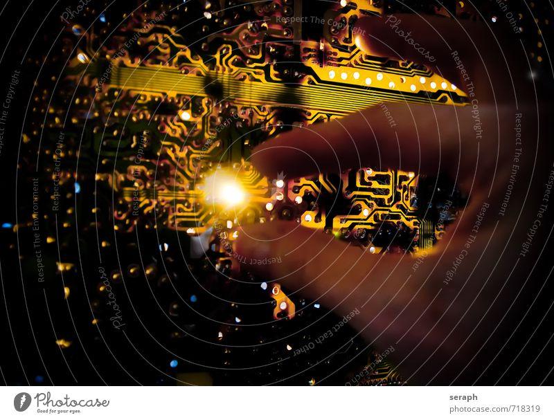 0110001101111001011000100110010101110010 modern Technik & Technologie Computer Kommunizieren Zukunft Telekommunikation Teile u. Stücke Gerät digital elektrisch