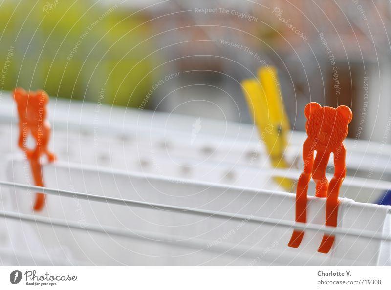 Bärenklammer Design Häusliches Leben Schönes Wetter Stoff 2 Tier Wäscheklammern Wäscheständer Wäsche waschen trocknen Kunststoff festhalten hängen tragen