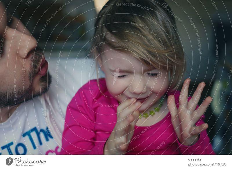 Mensch Mann Freude Mädchen Erwachsene Leben lustig feminin Stil Gesundheit Spielen lachen Lifestyle hell glänzend maskulin