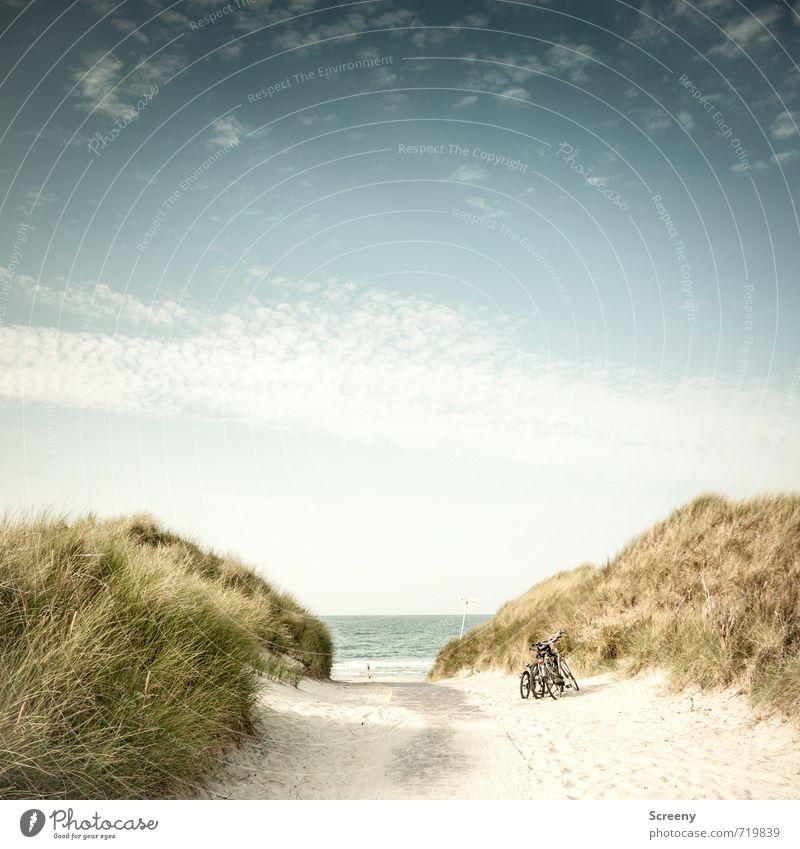 Zur See fahren... Ferien & Urlaub & Reisen Tourismus Ausflug Ferne Sommer Sommerurlaub Strand Meer Insel Natur Landschaft Sand Wasser Himmel Wolken Horizont