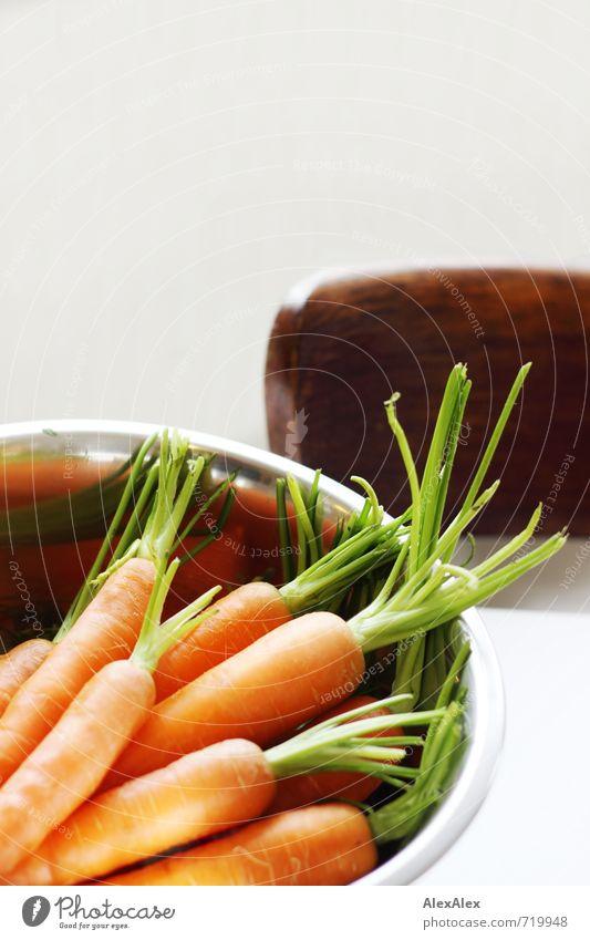 HALLE/S TOUR | photocase.de Wappentierchen grün Essen natürlich Lebensmittel braun orange liegen authentisch Ernährung Spitze einfach süß Küche Stuhl Gemüse