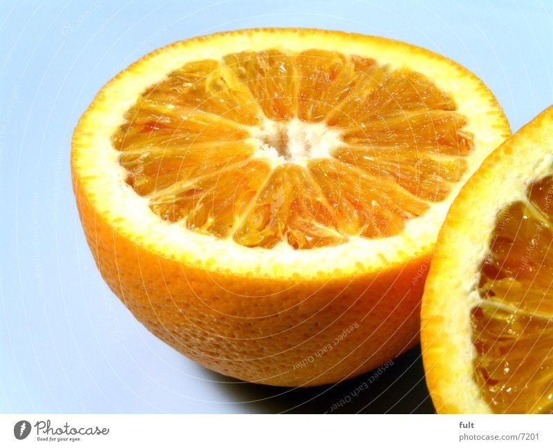 orangen Fruchtfleisch Vitamin Gesundheit frisch Makroaufnahme