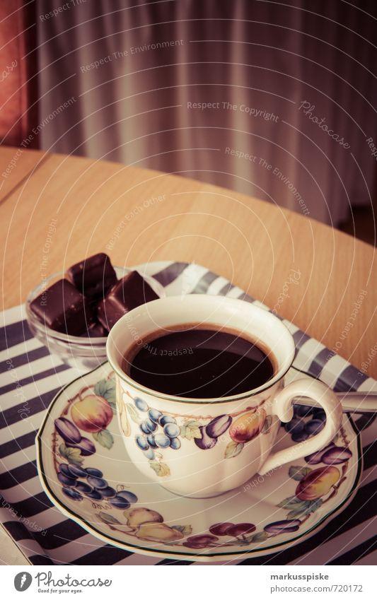 ein käffchen alt Stadt Stil Lebensmittel Lifestyle Raum elegant Design genießen Getränk niedlich retro trinken Kaffee Gastronomie Hotel