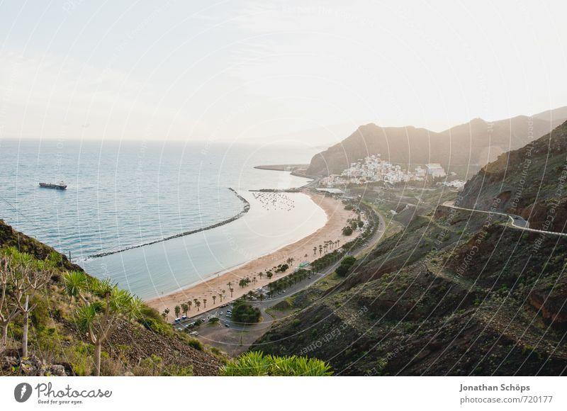 San Andrés / Teneriffa XV Umwelt Natur Landschaft Himmel Sonne Schönes Wetter Berge u. Gebirge Küste Strand Bucht Meer Insel exotisch Kanaren Urlaubsort