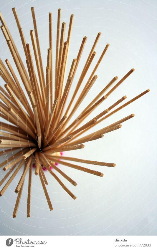 schtrudl Holz Streichholz Spirale Drehung Brand Stab Dynamik