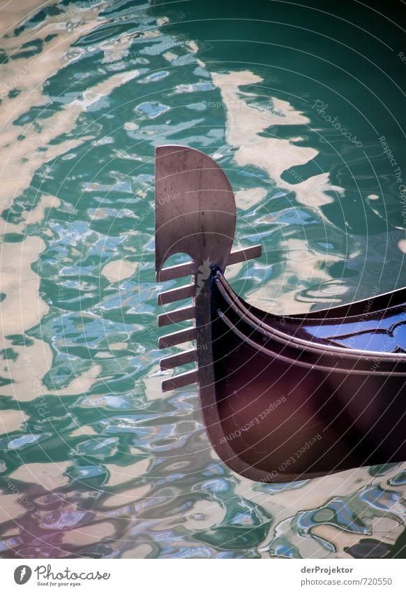 Gondel am Morgen... Ferien & Urlaub & Reisen Sommer Freude Leben Gefühle Stimmung Verkehr Tourismus Ausflug Italien Schifffahrt Denkmal Sommerurlaub Wahrzeichen