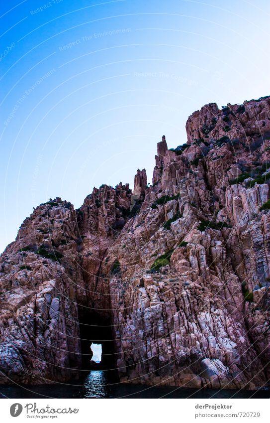 Miniaturansicht von Sardinien Himmel Natur Ferien & Urlaub & Reisen alt Pflanze Sommer Meer Landschaft Ferne Umwelt Küste Freiheit außergewöhnlich Felsen