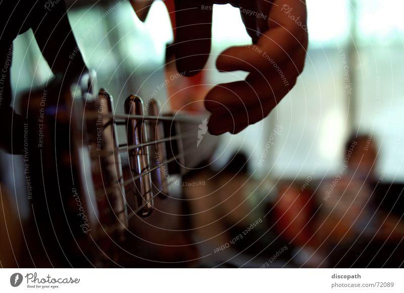 auf der Anderen Saite Hand Musik Schnur Rockmusik Gitarre Draht Klang Musikinstrument Schall Elektrobass zupfen