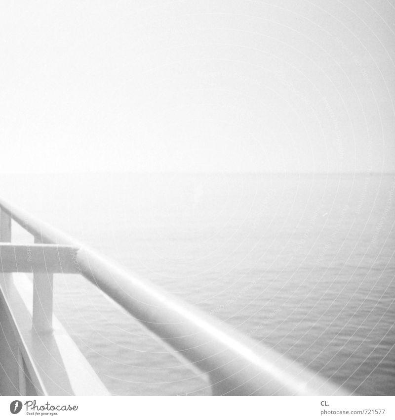 aufbruch Himmel Natur Ferien & Urlaub & Reisen Wasser Meer ruhig Ferne Umwelt Freiheit Horizont Wellen Tourismus Perspektive Insel Schönes Wetter Ausflug