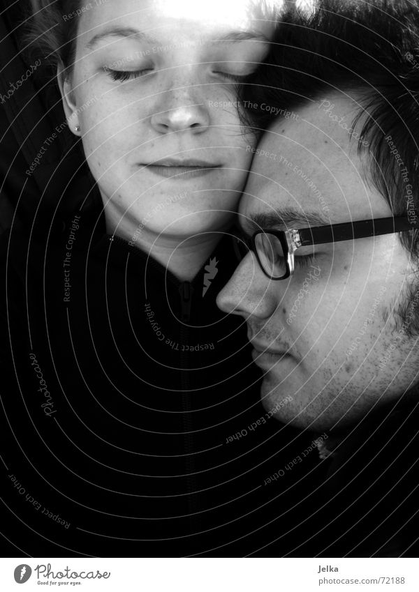 me and photoraver II Glück Gesicht harmonisch Ferien & Urlaub & Reisen Sommer Sonne Mensch Mädchen Frau Erwachsene Mann Freundschaft Paar Auge Nase Mund Brille