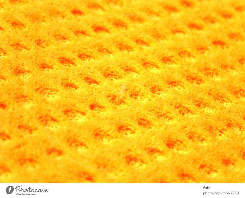 gelb Küche liegen Reinigen Dinge Wischen Quader Putztuch