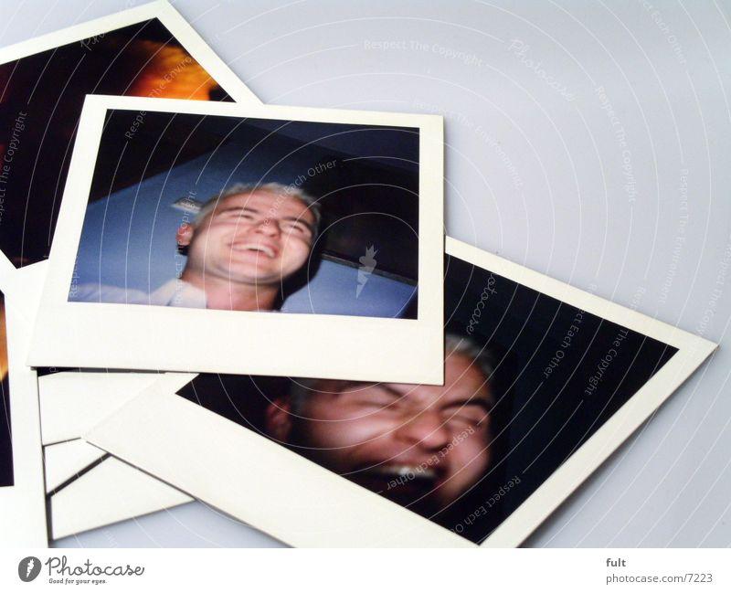 fotos Mann Gesicht Stil lachen Kopf Polaroid Fotografie liegen Bild Dinge grinsen Makroaufnahme aufeinander