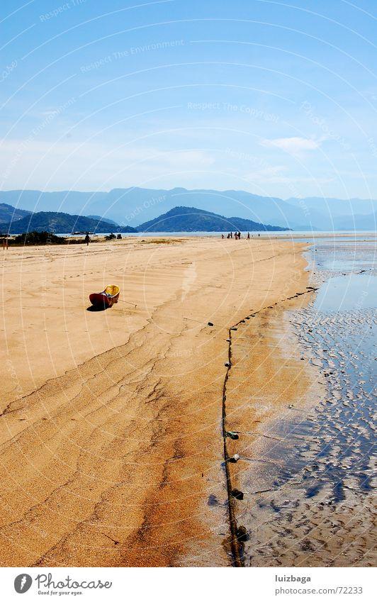 Paraty Beach Sommer Strand Sand Brasilien