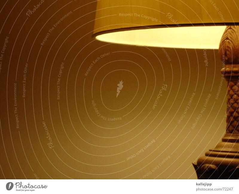 lightbox I Lampe Wärme hell Deutschland Wohnung Physik Häusliches Leben Innenarchitektur Glühbirne antik Erbe Lampenschirm Sitzecke wohnlich geschnitzt