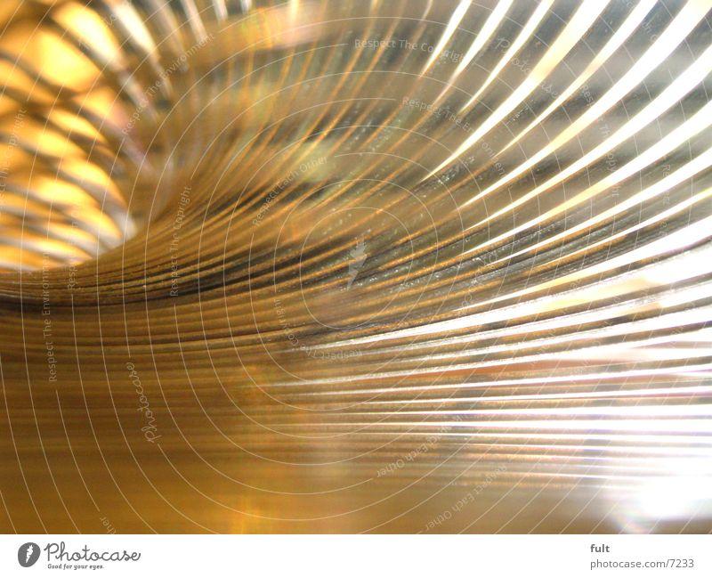spirale gelb Stil orange Metall rund Spirale beige Schwung Bogen gekrümmt
