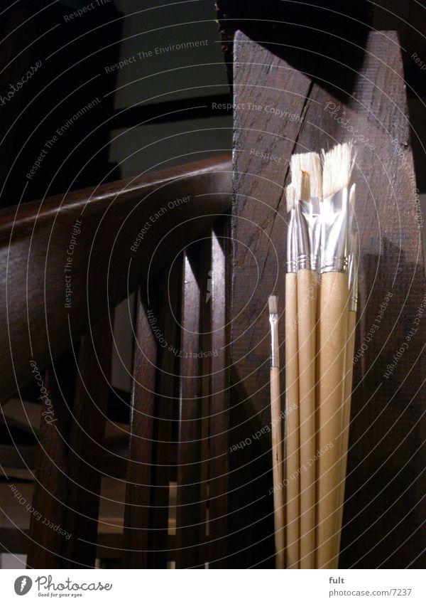 Pinsel Haus Stil Holz Kunst Freizeit & Hobby streichen Werkzeug Geländer Eiche Fachwerkfassade