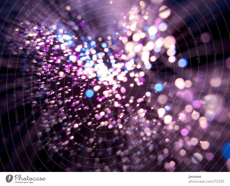 lichtspritzer blau dunkel Regen Wassertropfen violett Punkt spritzen durcheinander Verwirbelung molekular