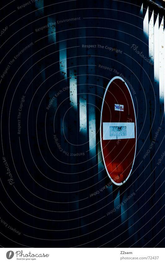 gate rot Metall Schilder & Markierungen Tor Strahlung Eisen Stab Gitter Gate