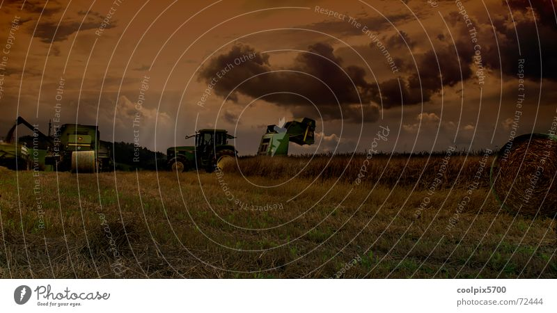 Erntezeit Wiese Landschaft Feld Felsen Getreide Landwirtschaft Maschine Korn Weizen Traktor Hafer Mähdrescher