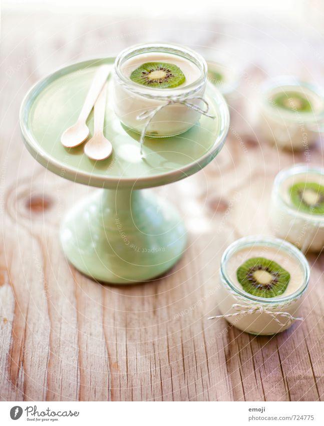 green Joghurt Milcherzeugnisse Frucht Dessert Süßwaren Ernährung Büffet Brunch Picknick Vegetarische Ernährung Slowfood Schalen & Schüsseln lecker süß grün Kiwi