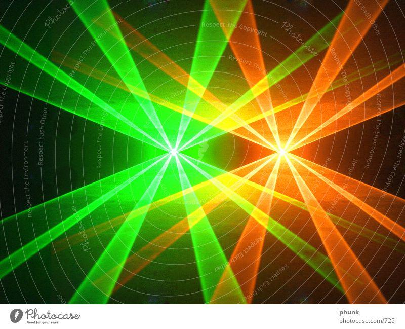laser oder so Party Beleuchtung Disco Rauch Verlauf Fototechnik Lasershow
