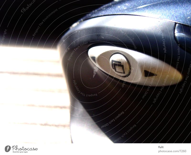 maus blau schwarz Stil Holz Design Technik & Technologie Pfeil Schreibtisch berühren Statue Kunststoff Computermaus Schwung Kellner Ikon Höhepunkt