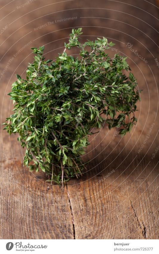 Parsley, Sage, Rosemary and Thyme Pflanze Holz Lebensmittel Kochen & Garen & Backen gut Kräuter & Gewürze Bioprodukte Holzbrett Vegetarische Ernährung Bündel