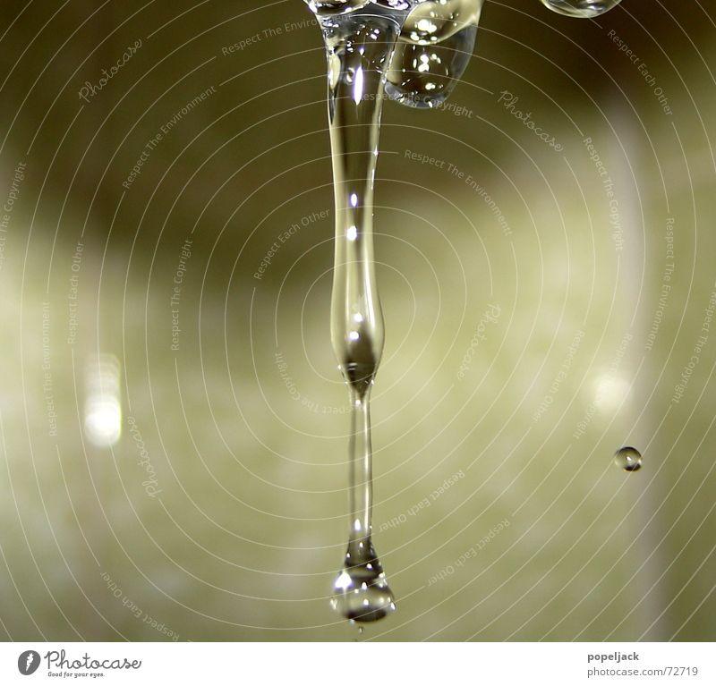 Tropfen Wasser kalt glänzend klein Wassertropfen nass frisch Bad Sauberkeit fallen Klarheit Haushalt Unter der Dusche (Aktivität)