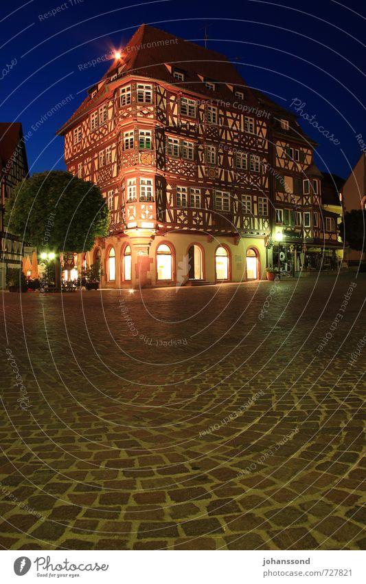 Mosbacher Altstadt 2 Ferien & Urlaub & Reisen alt blau Erholung Einsamkeit Haus braun Zufriedenheit Tourismus Idylle ästhetisch Lebensfreude Warmherzigkeit