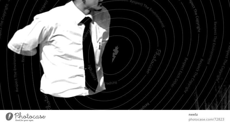 Server_02 Mann Business Perspektive Aktion Gastronomie Restaurant Dienstleistungsgewerbe Hemd Aussehen Krawatte Mensch Kellner Brennpunkt Gastwirtschaft