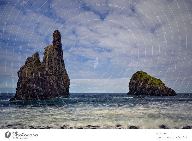 islets Himmel Natur blau weiß Wasser Meer Landschaft Wolken Küste braun Horizont Wetter Wellen Insel Schönes Wetter Spitze