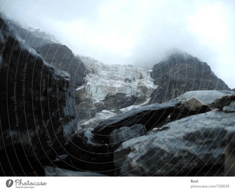 Gletscher alt Stadt weiß Wasser Sommer Landschaft Wolken schwarz kalt Umwelt Berge u. Gebirge grau Felsen Schneefall Eis Regen