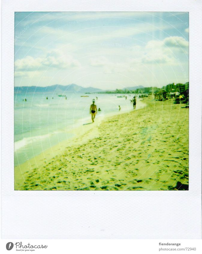 beachlife 3 Sonne Meer Strand Wolken Erholung Freiheit Sand Wellen laufen Haut Salz Gischt