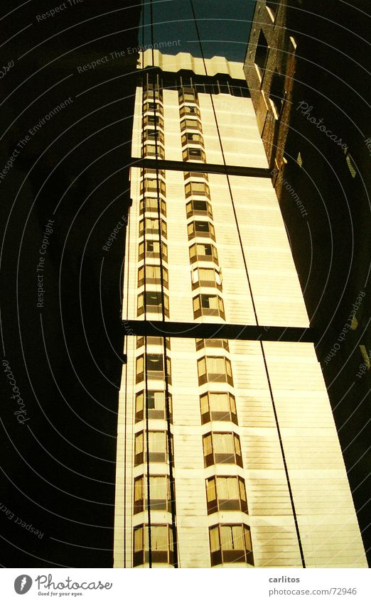 If you're going to San Francisco Hochhaus USA Hinterhof Kalifornien Licht & Schatten