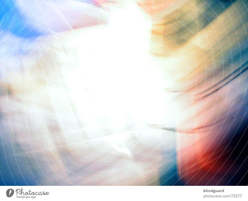 Speed Of Light weiß blau rot gelb Farbe Gefühle Bewegung Aktion