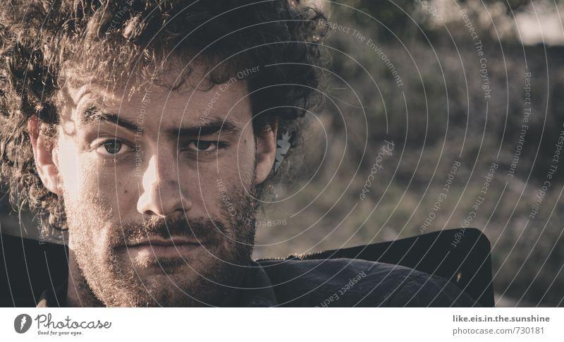 schon wieder montag? Ferien & Urlaub & Reisen Jugendliche Sommer Erholung Junger Mann 18-30 Jahre Erwachsene Gesicht Auge Leben Denken Haare & Frisuren Kopf