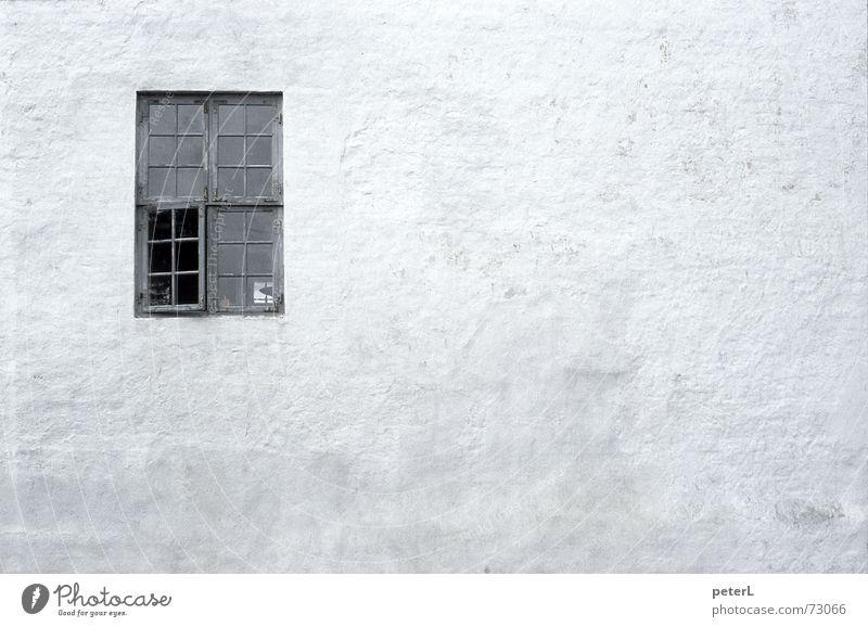 Proportion Fenster Putz Ruine Mauer Aussicht Einblick Licht historisch Altbau Burg oder Schloss Strukturen & Formen Schatten