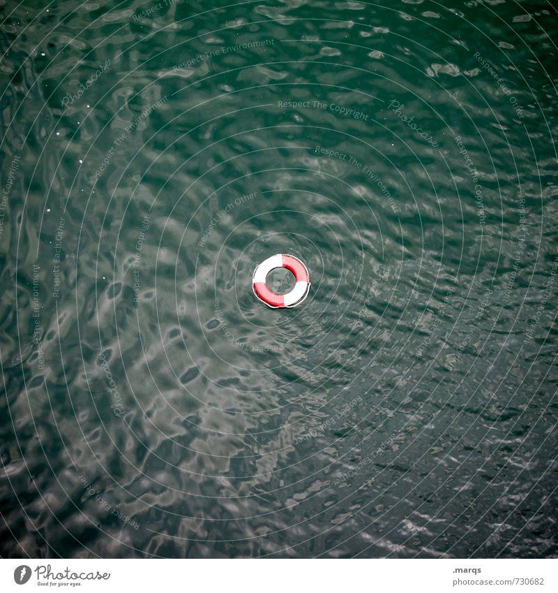 Freischwimmer Umwelt Urelemente Wasser Rettungsring Zeichen Schwimmen & Baden maritim Sicherheit Nichtschwimmer Notfall Badeurlaub untergehen SOS ertrinken