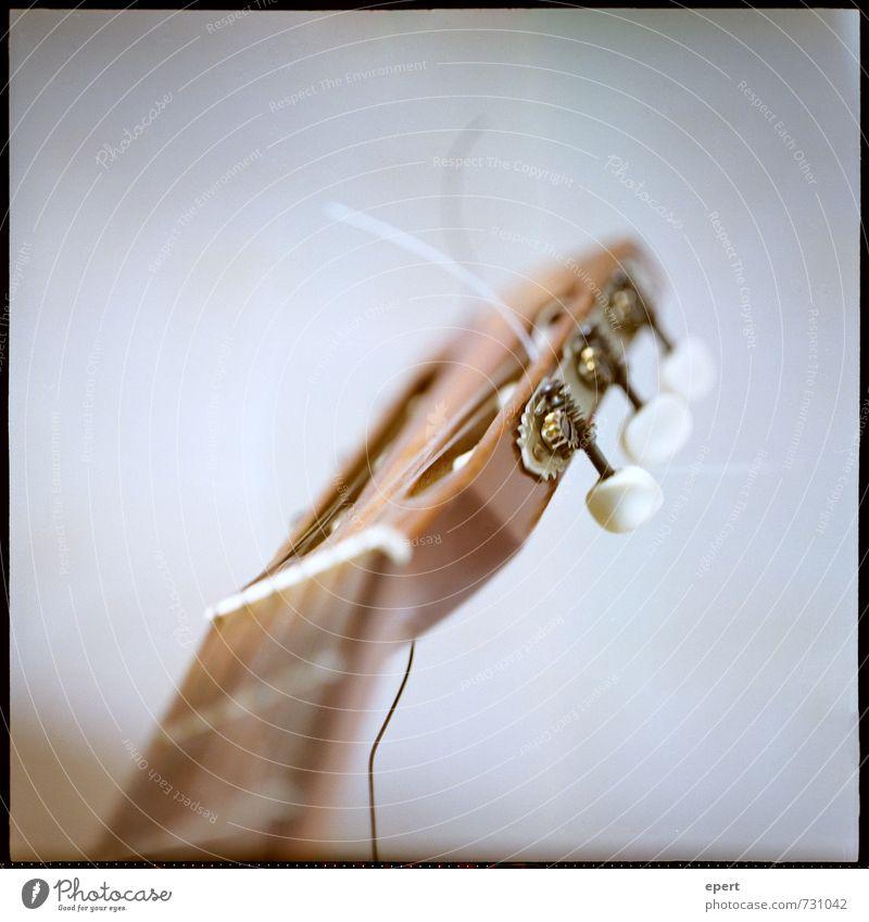 Muttis Klampfe Freizeit & Hobby musizieren Gitarre spielen Musik Musikinstrument gebrauchen alt ästhetisch einfach retro Leidenschaft Kultur Mittelformat analog