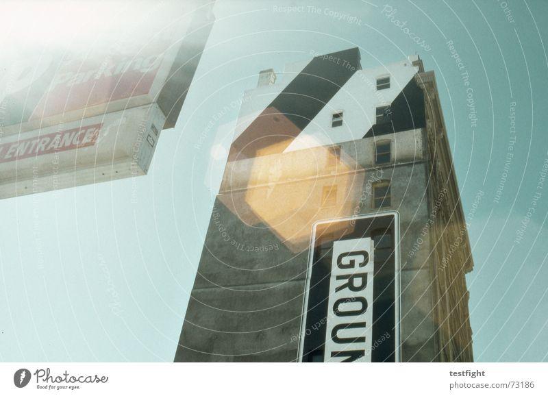 ground Himmel Sonne Fenster Gebäude Beton Schilder & Markierungen Hochhaus Fassade USA Bodenbelag unten San Francisco
