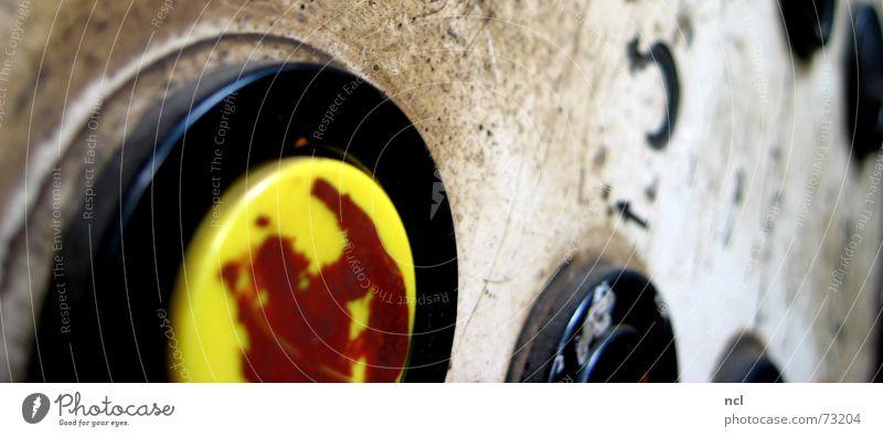 Schalttafel die Dritte Arbeit & Erwerbstätigkeit dreckig Energiewirtschaft Elektrizität Industriefotografie Kabel Fabrik Verfall Handwerk Knöpfe Schalter
