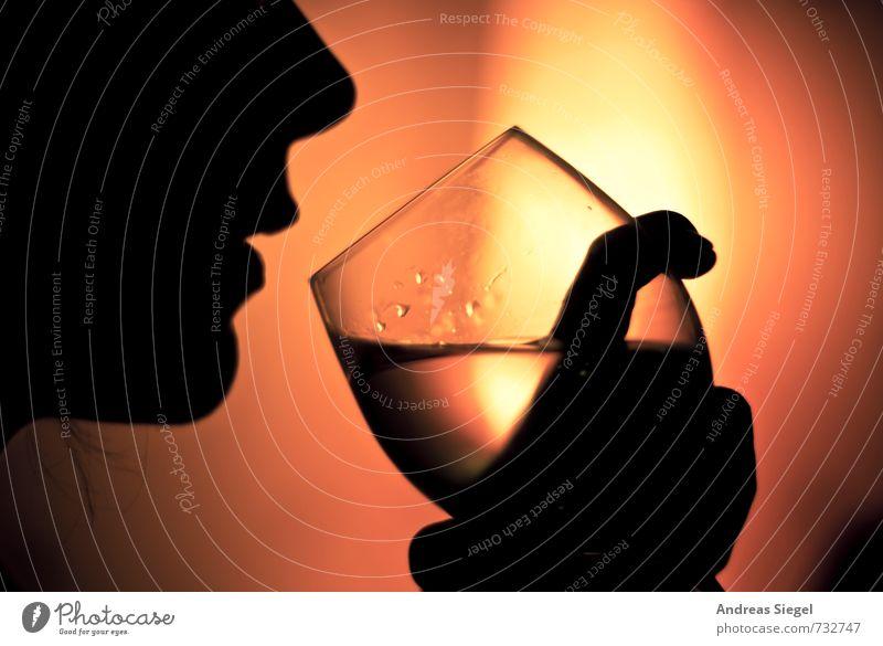 Santé Mensch gelb Gesicht Leben Stil Feste & Feiern Stimmung Lebensmittel Party orange Lifestyle elegant Zufriedenheit Glas genießen Wassertropfen