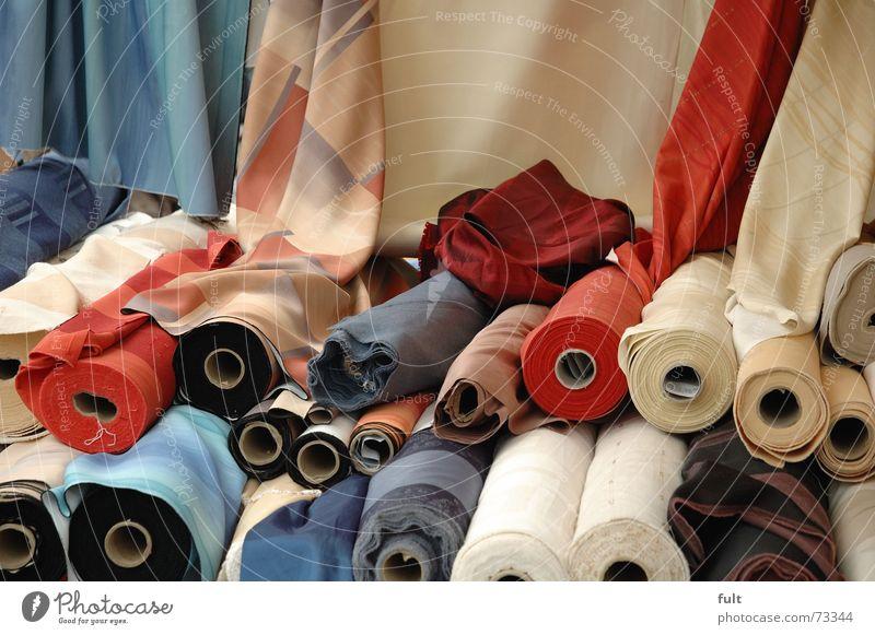 stoff Stoff Gardine Rolle Nähgarn Tuch Textilien Baumwolle Strohballen